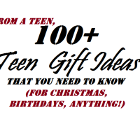 Over 100 Teen Gift Ideas - UK Edition