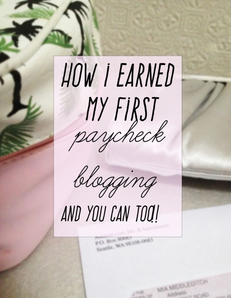 how i earn money as a blogger