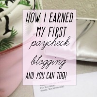 How I Used Amazon Associates To Earn My First Paycheque As A Small Blogger {Blogging 101}