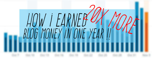 how to earn more blog money