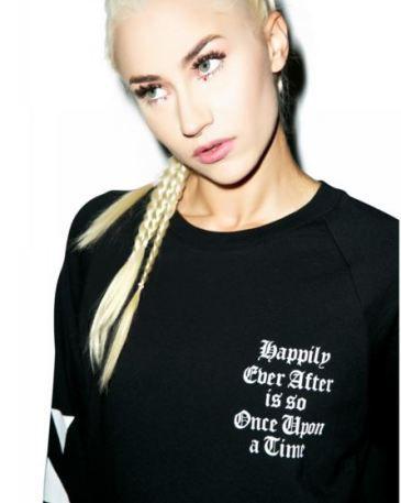 happily ever after is so once upon a time pessimistic tumblr crewneck
