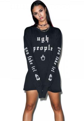 ugh people antisocial grunge internet tumblr sweater
