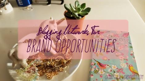 blogging networks for brand opportunites