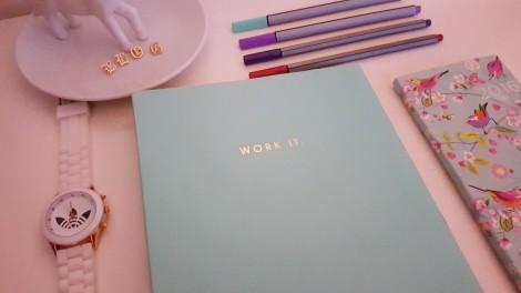 desktop blog notebook