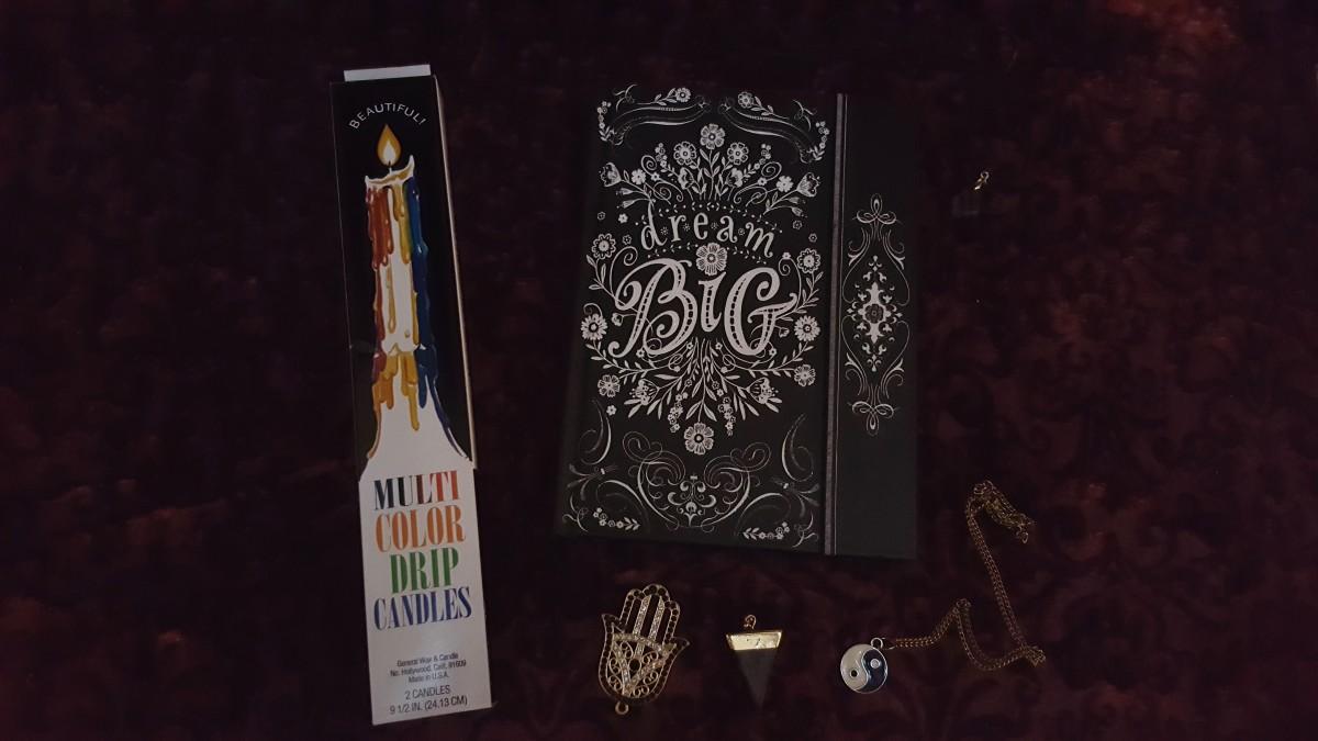 dream big goth notebook