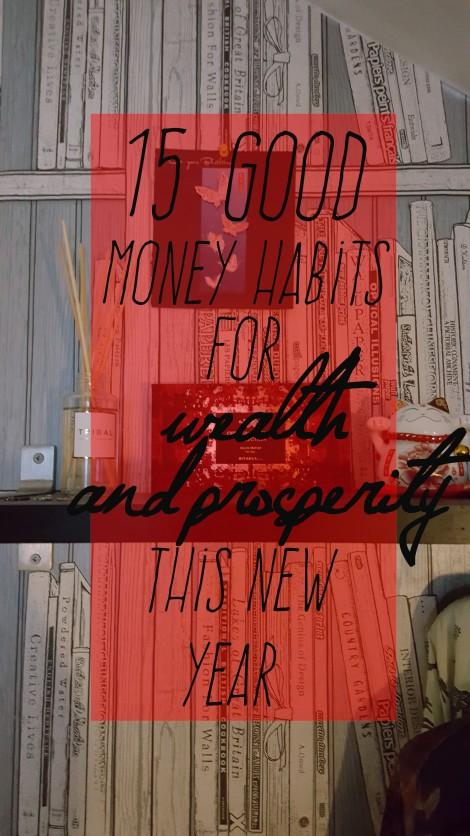 15 good money habits