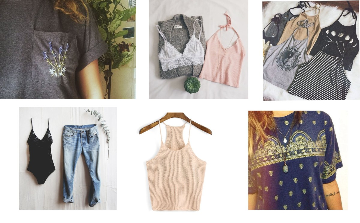 spring essential tops