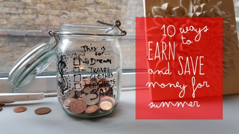 how to save and earn money for summer teens