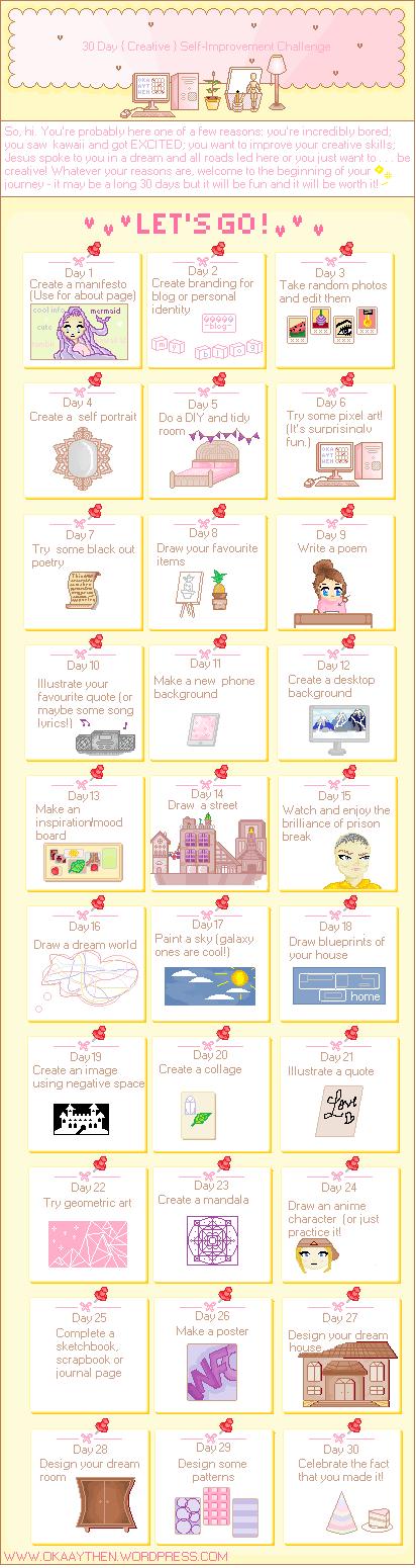 kawaii pixel art header blog