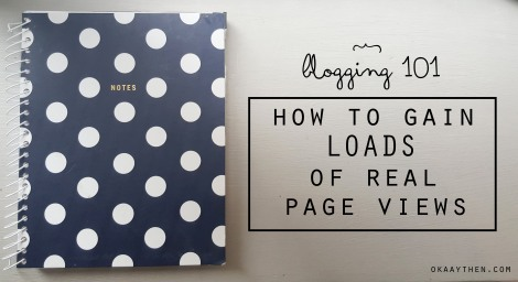 HOW TO GAIN PAGE VIEWS