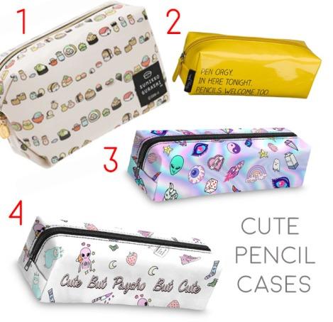 cute pencil cases