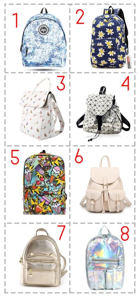 cute teen girls back to school kawaii school bags rucksacks backpags